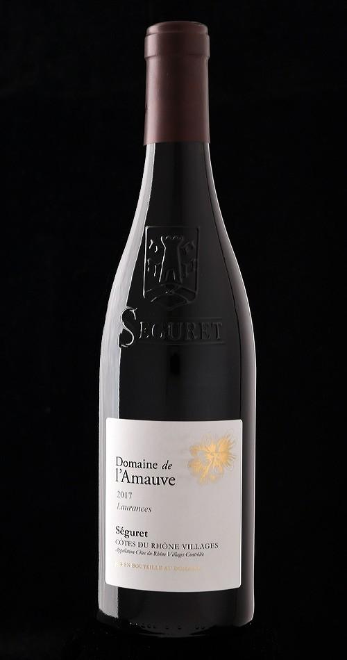 """Domaine de l'Amauve, Séguret """"Laurences"""" 2017"""