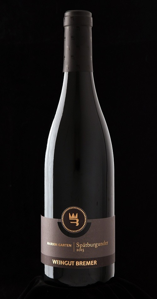Weingut Bremer Marien-Garten Spätburgunder 2015
