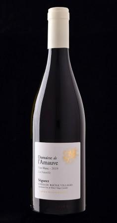 """Domaine de l'Amauve, Séguret Blanc """"La Daurèle"""" 2019"""